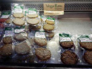 Hamburguesas veganas y vegetarianas
