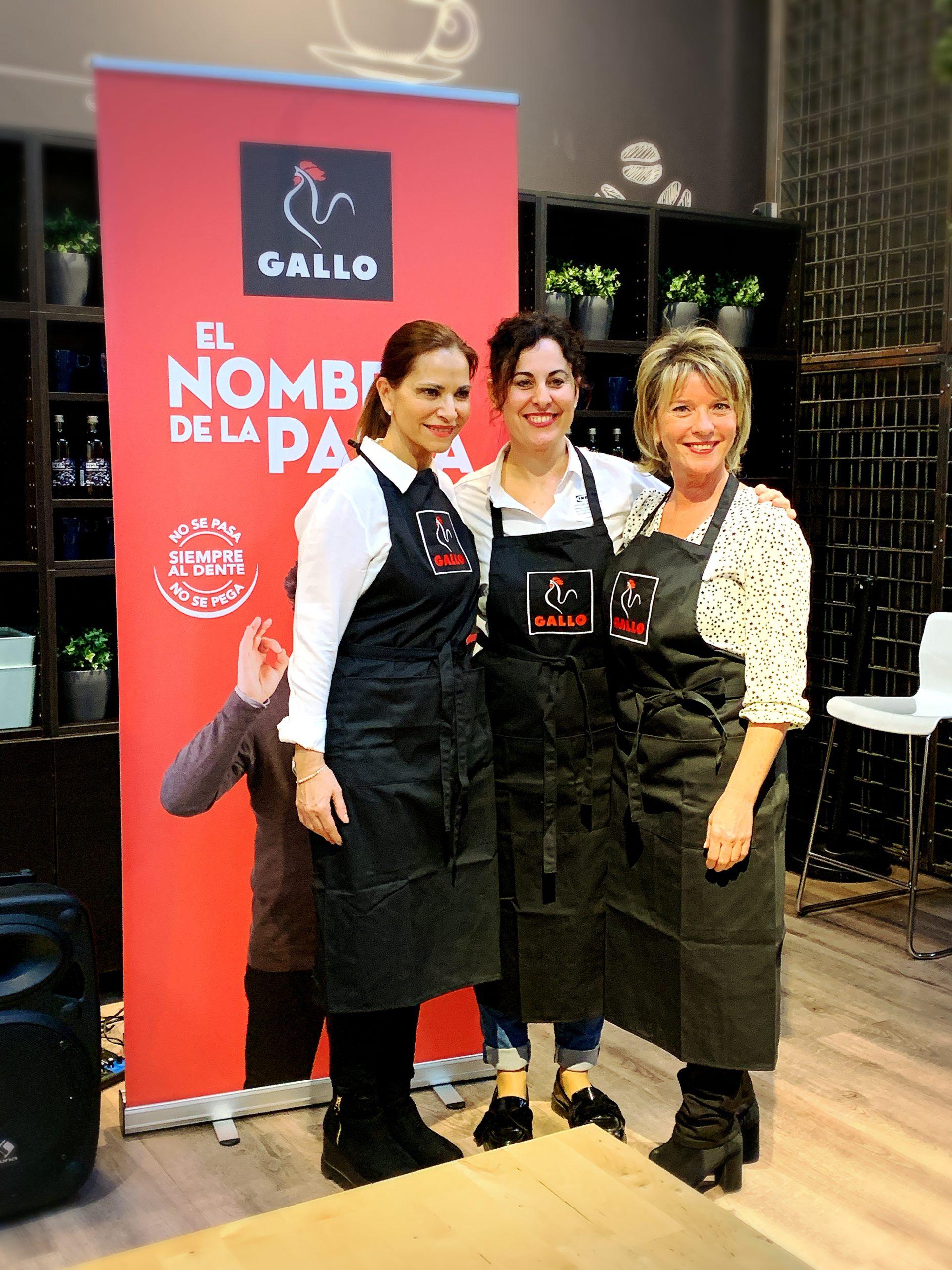Showcooking de recetas saludables con Pastas Gallo en Ikea Badalona